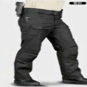 Celana Tactical Panjang Hitam