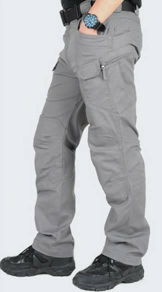 Celana Tactical Panjang Abu