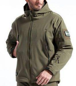 jaket TAD hijau