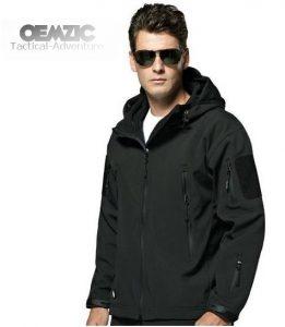 jaket TAD hitam